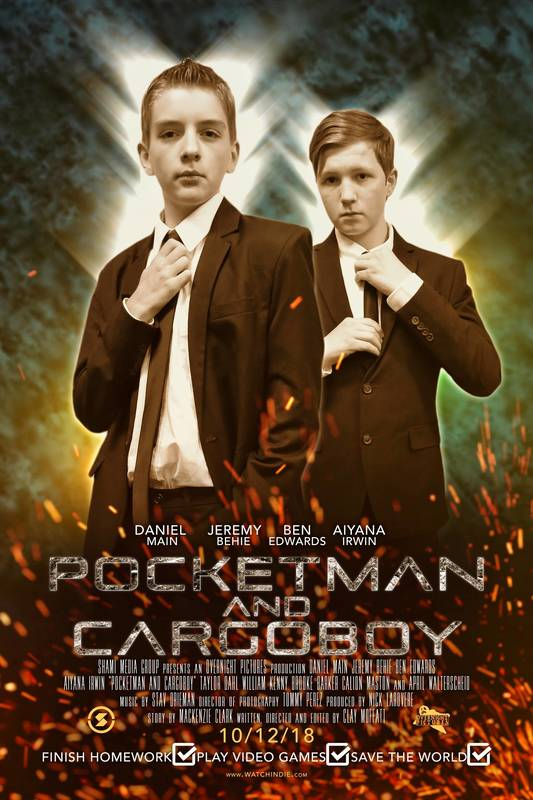 Pocketman And Cargoboy - Feature film review.
